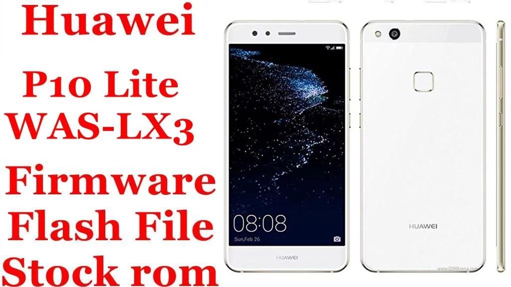 Huawei P10 Lite WAS LX3