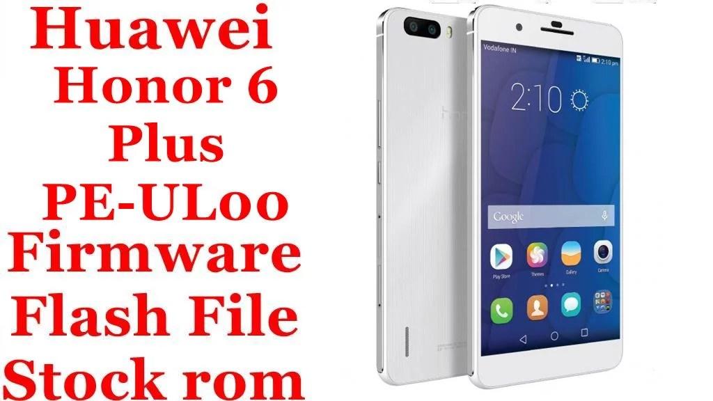 Huawei Honor 6 Plus PE UL00