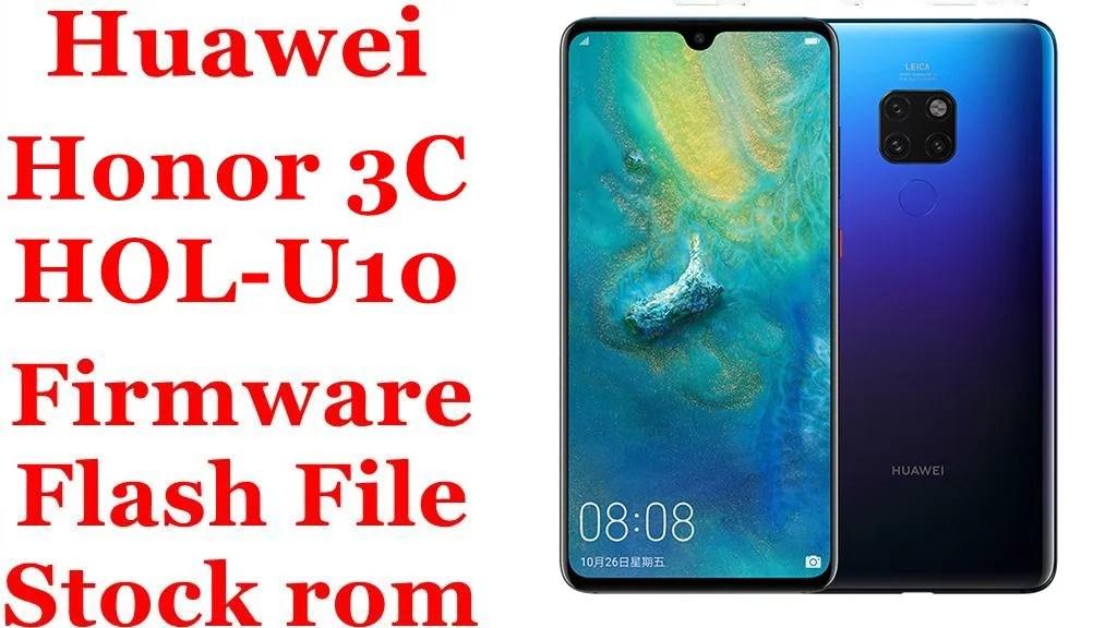 Huawei Honor 3c Hol