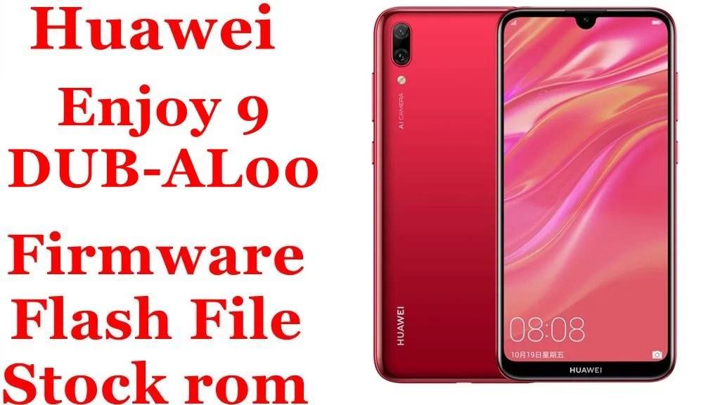 Huawei Enjoy 9 DUB AL00