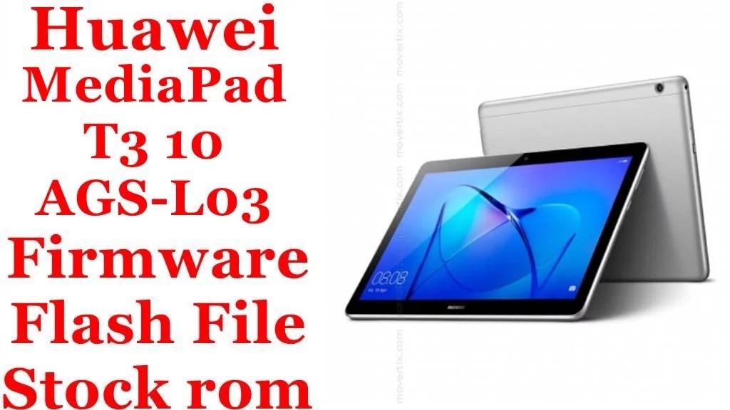 Huawei MediaPad T3 10 AGS L03