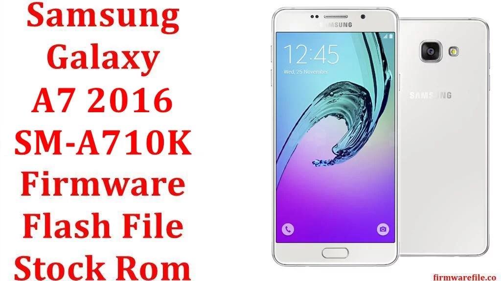 Samsung Galaxy A7 2016 SM A710K