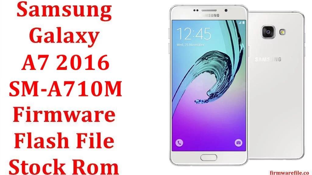 Samsung Galaxy A7 2016 SM A710M