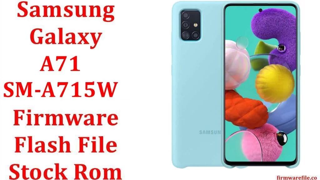 Samsung Galaxy A71 SM A715W