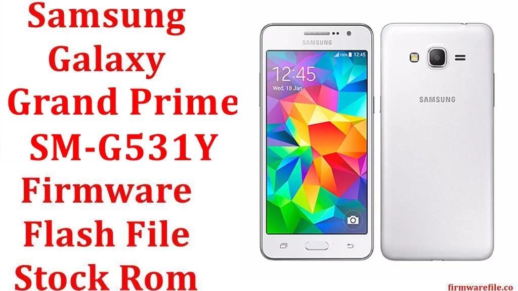 Samsung Galaxy Grand Prime SM G531Y