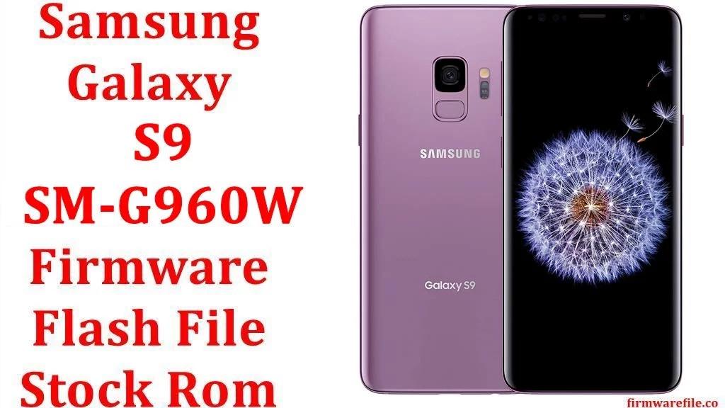 Samsung Galaxy S9 SM G960W