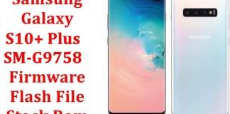Samsung Galaxy S10 Plus SM G9758