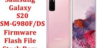 Samsung Galaxy S20 SM G980F DS