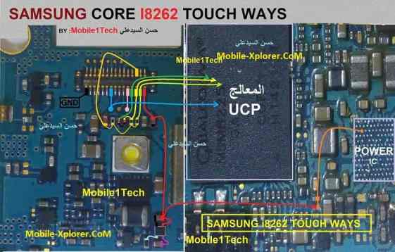 Samsung I8262 Touch Screen