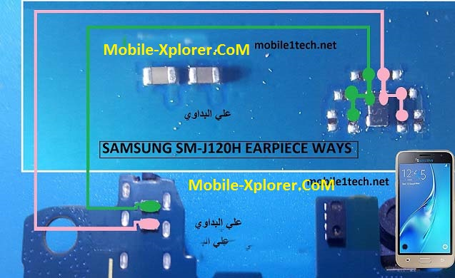 Samsung Galaxy J1 J120H Earpiece