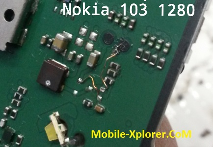Nokia 103 LCD Light Ways Jumper Solution