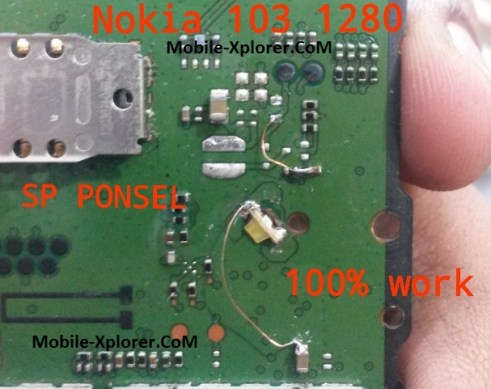 Nokia 1280 LCD Display Light Repair 100% Tested Solution