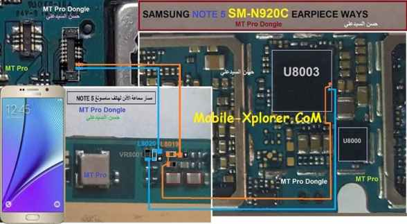 Samsung SM-N920C Earpiece/Ear Speaker Problem Solution