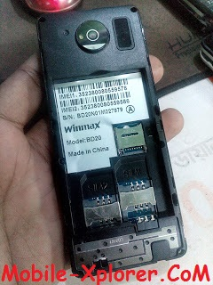 Winmax BD20 SPD6531 Flash File Without Password