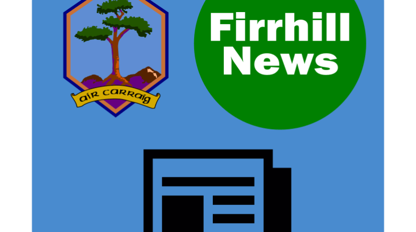 April Edition of the Firrhill News