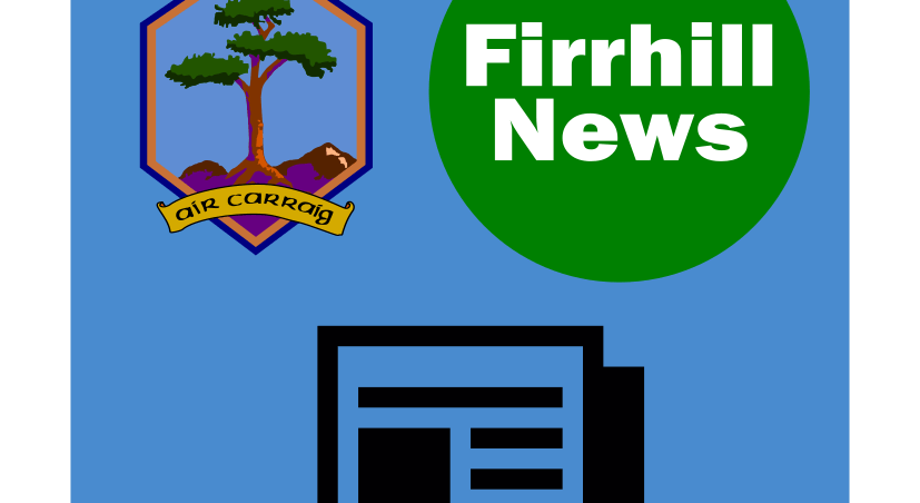 August edition of the Firrhill News