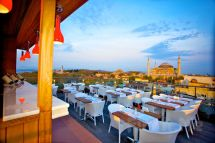 Sultanahmet Manzaral Arden City Hotel Chronicles Roof