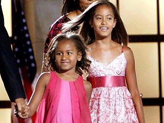 Sasha-and-malia-obama