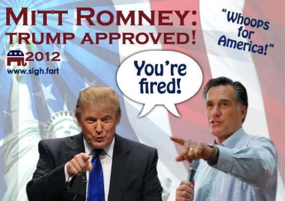 Romney-trump-fired