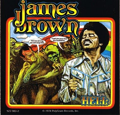 James Brown. Hell Back Cover