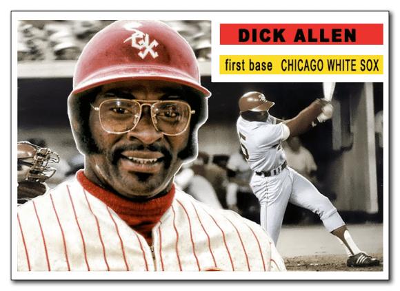 Topps Dick Allen White Sox
