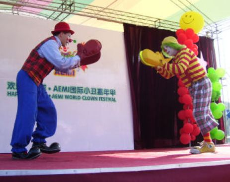 ClownSlapFight