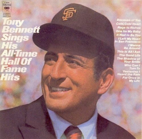 Tony Bennett - His All-Time Hall Of Fame Hits