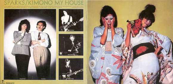 Kimono My House Gatefold