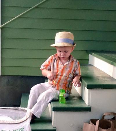 Old Cuban Toddler