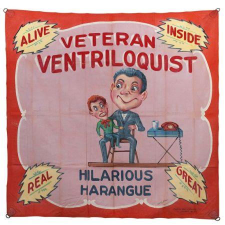 Veteran Ventriloquist by Fred G Johnson