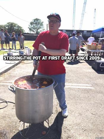 Strring the pot meme