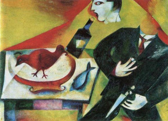 Chagall The Drunkard