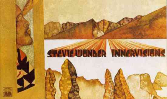 Stevie Wonder Innervisions Giclee Canvas Album Cover Picture Art