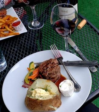 steak at Omars