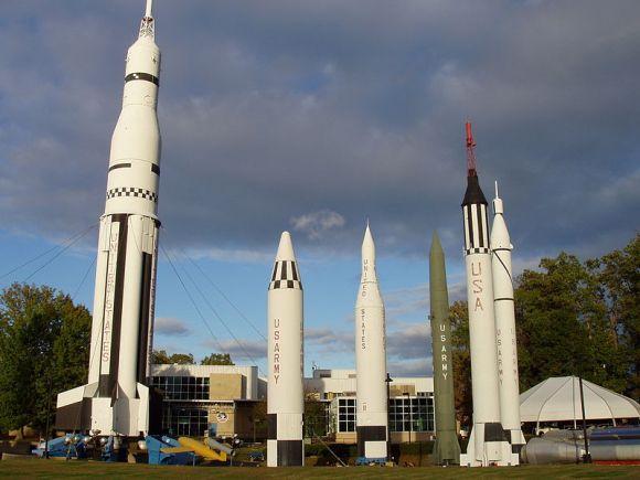 Rockets in Huntsville Alabama