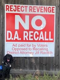 No D.A. Recall Poster