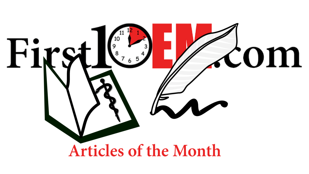 Articles of the month (April 2016)