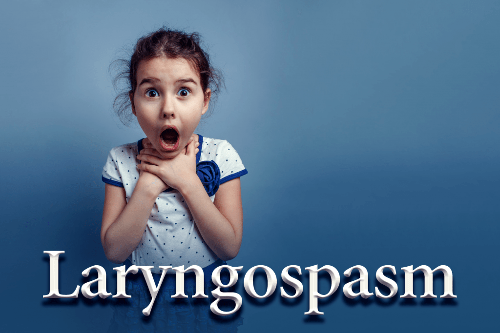 Managing laryngospasm in the emergency department