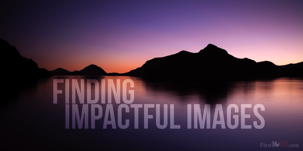 Finding impactful images (for free)