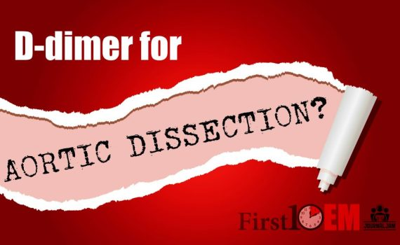 D-dimer for aortic dissection