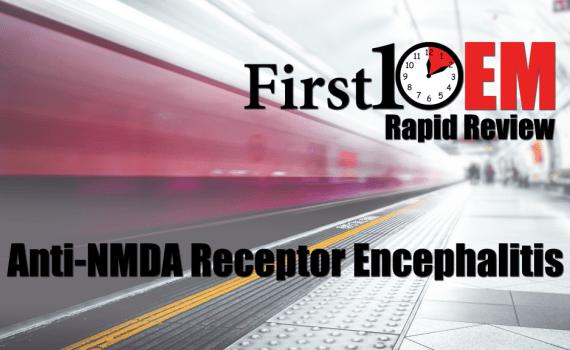 Anti-NMDA receptor encephalitis title image