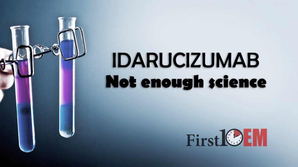 Idarucizumab: Plenty of optimism, not enough science