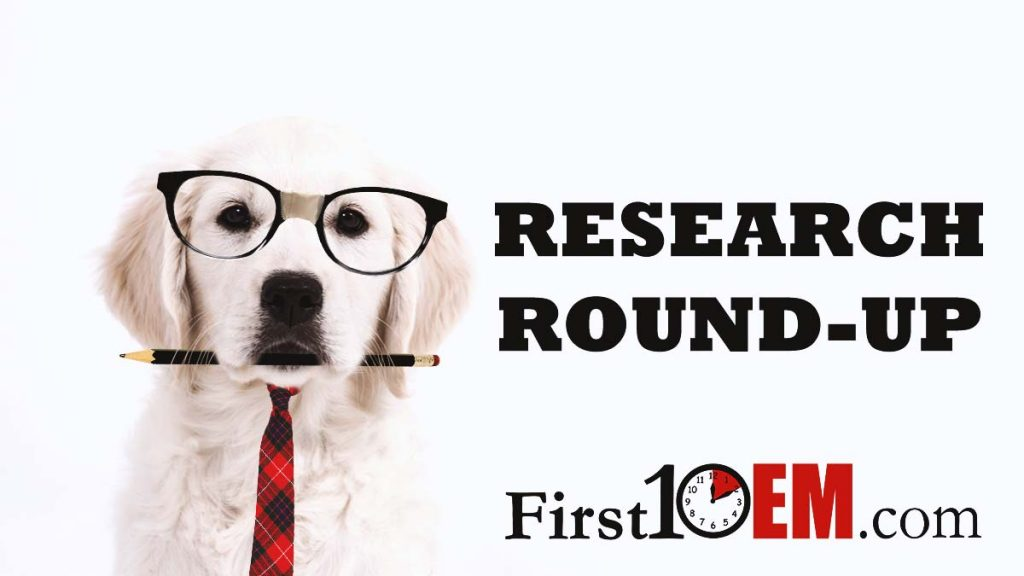 Research Roundup (formerly articles of the month)
