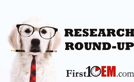 Research Roundup First10EM
