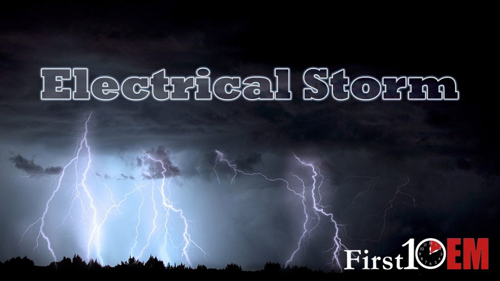 Management of Electrical Storm - First10EM