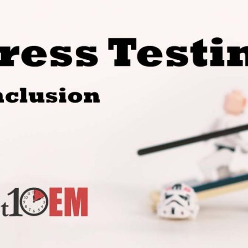 stress test evidence conclusion title image