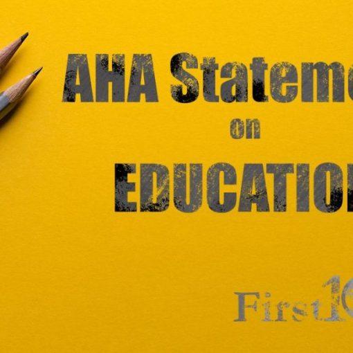Medical Education Statement AHA