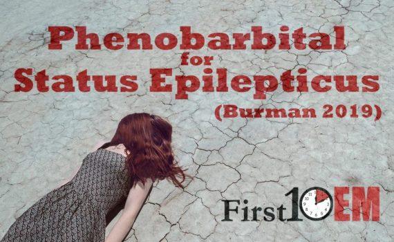 Phenobarbital in Status Epilepticus title image