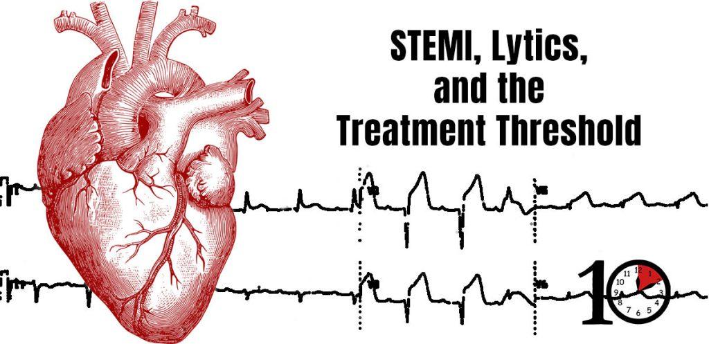 Treatment threshold in STEMI
