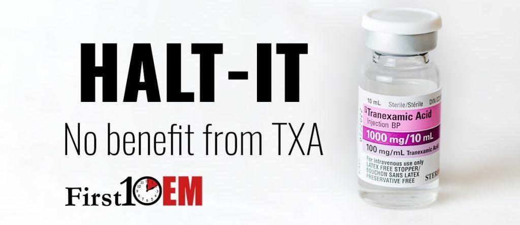 TXA for GI Bleeds